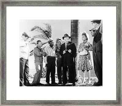 It's A Mad Mad Mad Mad World  Framed Print