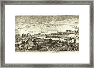 Jean-jacques De Boissieu, French 1736-1810 Framed Print