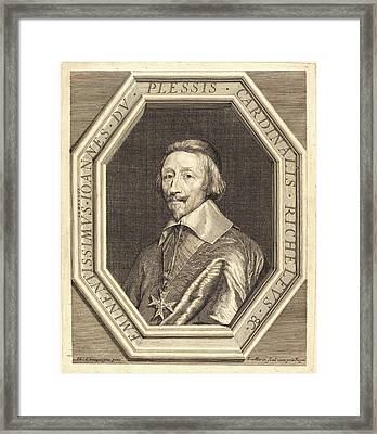 Jean Morin After Philippe De Champaigne Framed Print