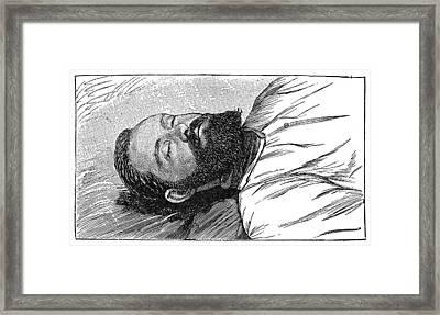 Jesse James (1847-1882) Framed Print by Granger