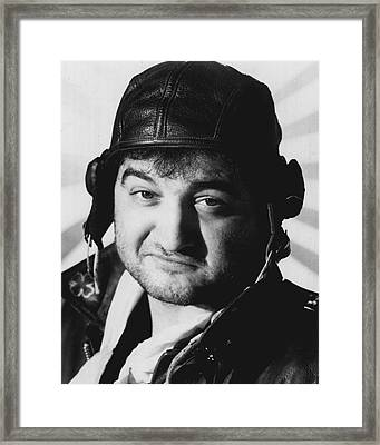 John Belushi Framed Print by Retro Images Archive