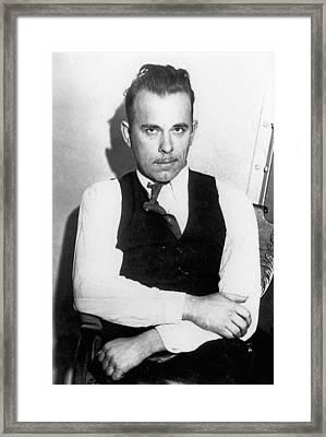 John Dillinger (1903-1934) Framed Print