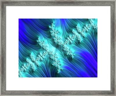 Julia Fractal Framed Print
