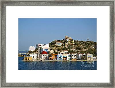 Kastelorizo Island Framed Print