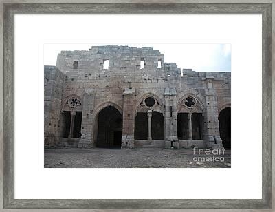 Krak Des Chevaliers, Syria Framed Print by Catherine Ursillo