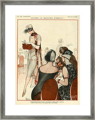 La Vie Parisienne 1924 1920s France A Framed Print by The Advertising Archives