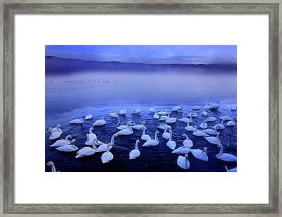 Lake Kussharo Framed Print