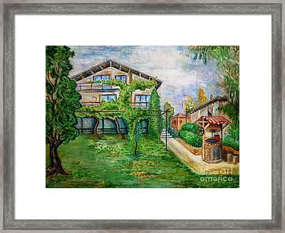 Landscape Framed Print by Milen Litchkov
