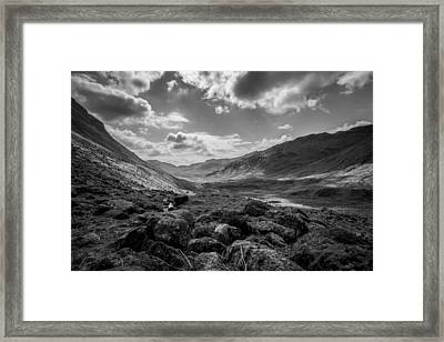 Langdale Framed Print by Mike Taylor