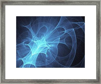 Light Pattern Framed Print