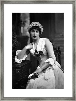 Lillie Langtry (1852-1929) Framed Print
