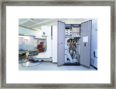 Linear Accelerator Framed Print by Antonia Reeve/science Photo Library