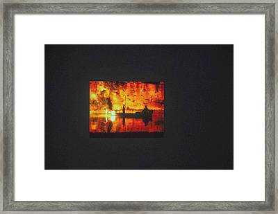 Love's Book Covers Series Framed Print