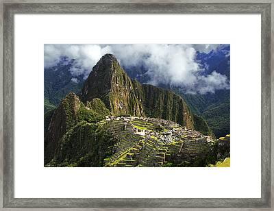 Machu Picchu Framed Print