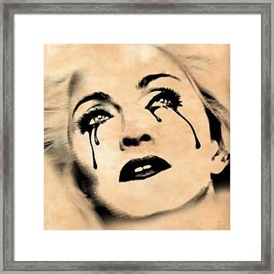 Madonna  Framed Print by Mark Ashkenazi