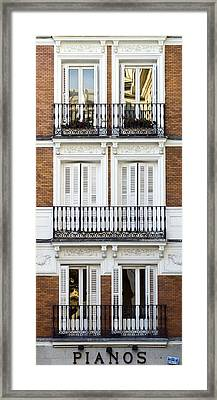 Madrid Framed Print by Frank Tschakert