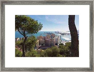 Malaga, Costa Del Sol, Spain Framed Print