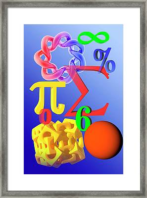 Mathematics Framed Print
