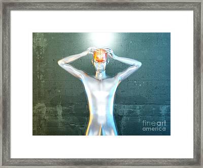 Mental Power Framed Print by Michael Osterrieder