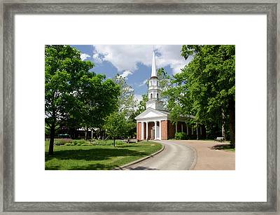 Michigan, Wyandotte Framed Print by Cindy Miller Hopkins