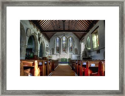 Minster Abbey Framed Print