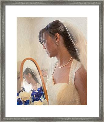 5 More Minutes And Married Framed Print