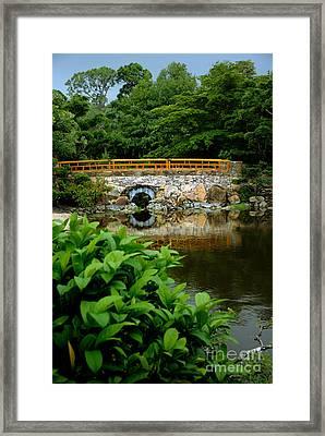 Morikami Japanese Garden And Museum Framed Print