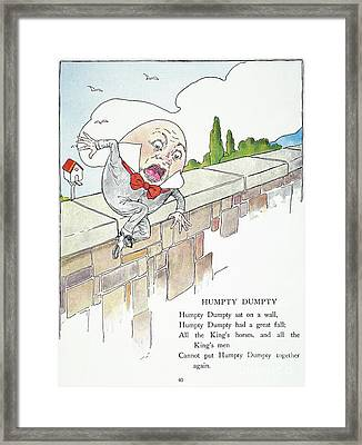 Mother Goose, 1916 Framed Print
