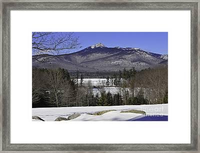 Mount Chocorua Framed Print by Catherine Reusch Daley
