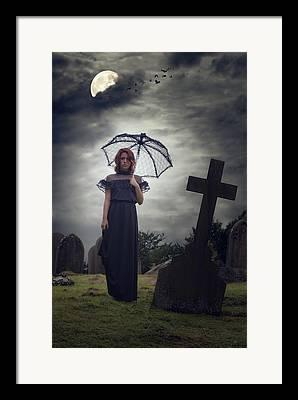 Gothic Cross Framed Prints
