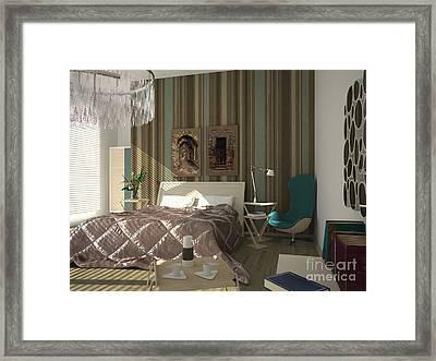 My Art In The Interior Decoration - Elena Yakubovich Framed Print