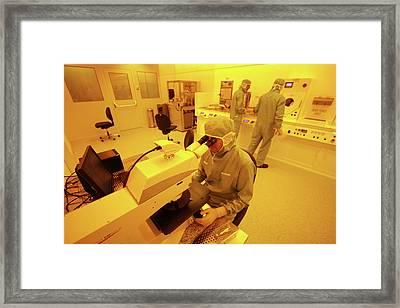 Nanotechnology Centre Framed Print