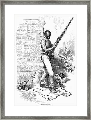 Nast Election, 1876 Framed Print by Granger