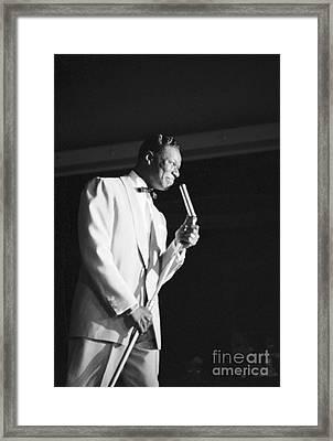 Nat King Cole 1954 Framed Print