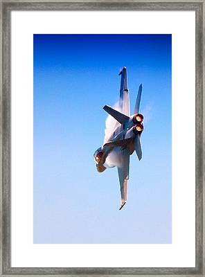 Navy F-18 Super Hornet Framed Print