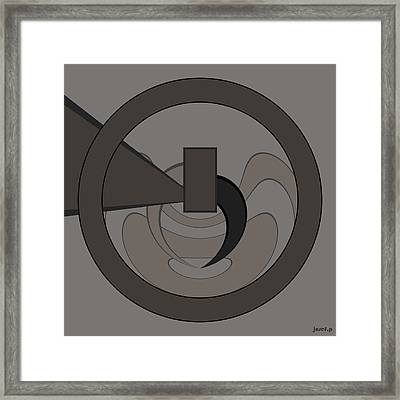 New Ideas Generator The Power Of Colors And Form Framed Print