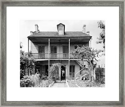 New Orleans House Framed Print by Granger