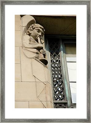 New York, Buffalo, City Hall Framed Print by Cindy Miller Hopkins