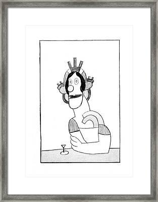 New Yorker February 23rd, 1976 Framed Print
