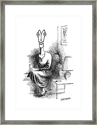 New Yorker May 5th, 1962 Framed Print