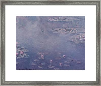 Nympheas Framed Print