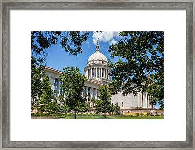 Oklahoma State Capital Framed Print