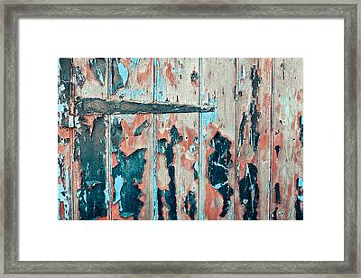 Old Door Framed Print by Tom Gowanlock