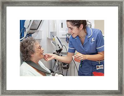 Orthopaedics Ward Framed Print