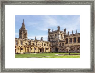 Oxford Framed Print
