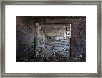 Packard Factory Framed Print