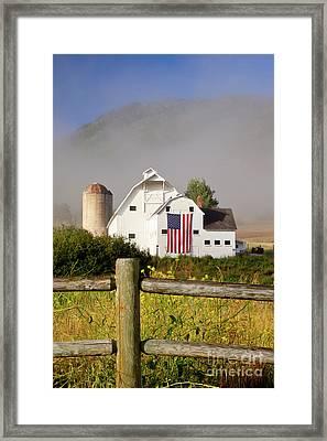 Park City Barn Framed Print