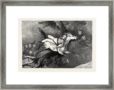 Parliamentary Elections And Electioneering In The Old Days J Framed Print
