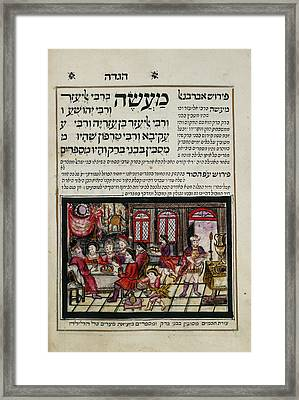 Passover Haggadah Framed Print by British Library