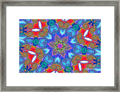 Pattern 4 Framed Print